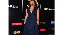 Elena Fernandes at the GQ night awards.