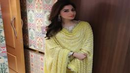 Kanika Kapoor stuns in a creation from her own label !