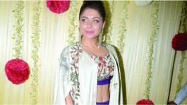 Kanika Kapoor shines in a Payal Khandwala ensemble at Ekta Kapoors Diwali Bash.