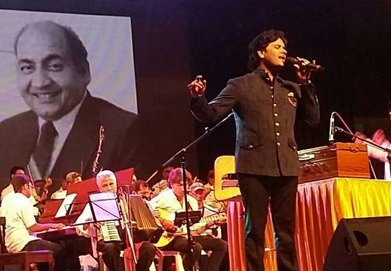 Javed Ali paid tribute to the singing legend Md. Rafi