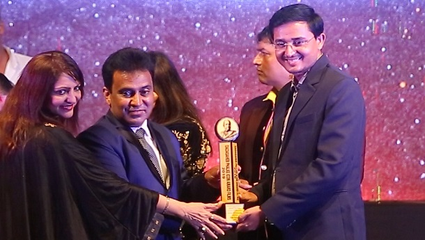 Yogesh Mishra received Dada Saheb Phalke Icon Award Films 2019