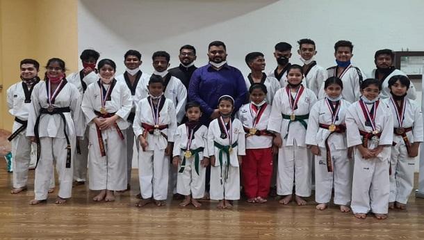 Mumbais renowned Siddhakala Taekwondo Academy players once again shine at the national level