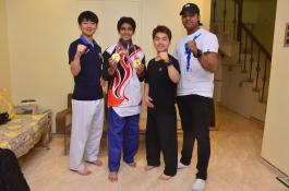 Rishabh Kiran Dixshit strikes gold in 11th World Taekwondo Culture Expo