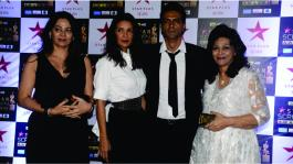 Arjun Rampal attends Star Screen Awards 2017 with his family!