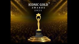 'Iconic Gold Awards 2021' to be held on Sep. 25th in Mumbai
