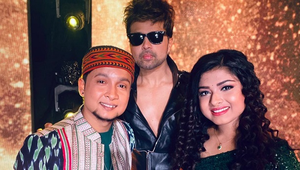 Himesh to launch Pawandeep and Arunita in the first song of his new album as a composer-Moods with Melodies