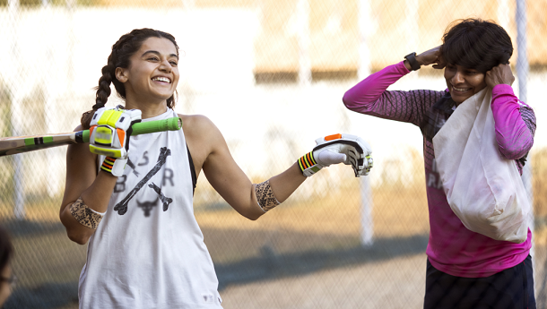 Taapsee Pannu trains with Mithali Raj's friend & former teammate for Viacom18 Studios' Shabaash Mithu