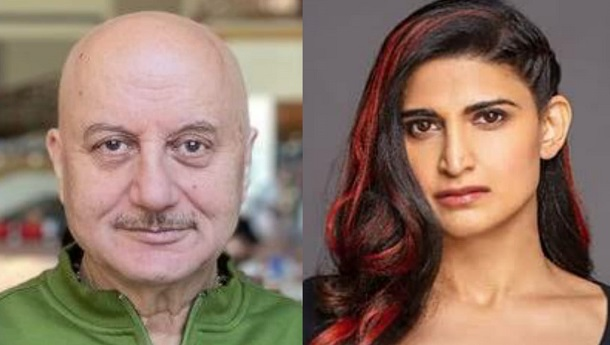 Anupam Kher and Aahana Kumra wrap up shooting for Happy Birthday
