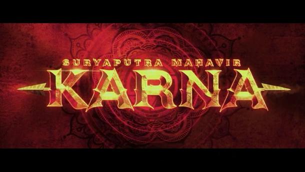 Pooja Entertainment unveils the enthralling title logo of their magnum opus Suryaputra Mahavir Karna!