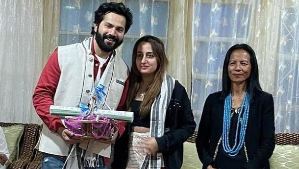 Varun Dhawan and Natasha Dalal donate Rs 1 lakh for the fire victims of Arunachal Pradesh's Tirap and Longding districts