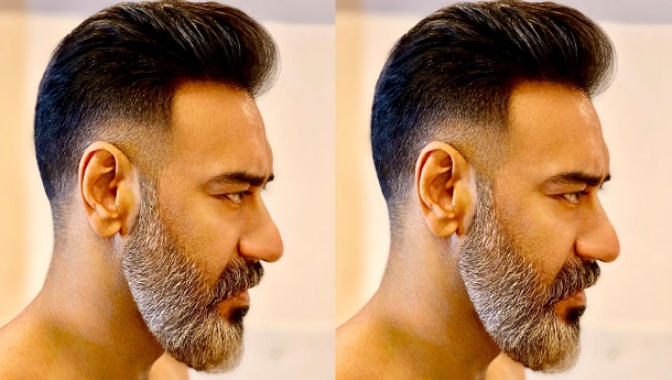 Ajay Devgn sports a dashing bearded look, Aalim Hakim takes charge of the look!