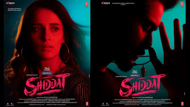 The exclusive motion poster of 'Shiddat' released