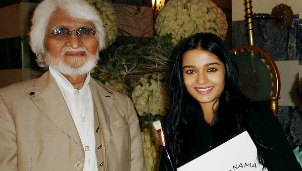 Amrita Rao remembers  M.F Hussains special gift to her on his 106th birth anniversary today