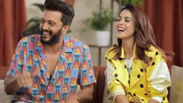 Genelia Deshmukh reacts to her troller calling her besharam, cheap aunty on Arbaaz Khan Pinch Season 2 promo