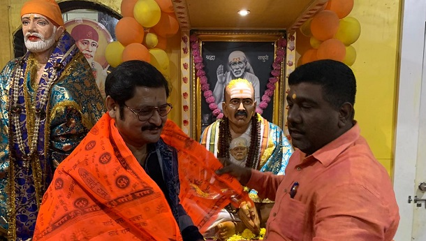 Rohitashv Gour visits Shirdi!