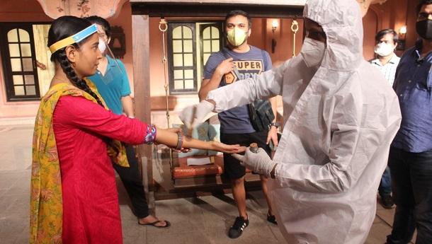 &TV's Gudiya Humari Sabhi Pe Bhaari resumes shoot