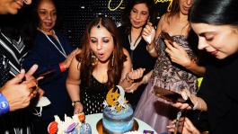 Munisha Khatwanis friends turned up to make her birthday bash special!